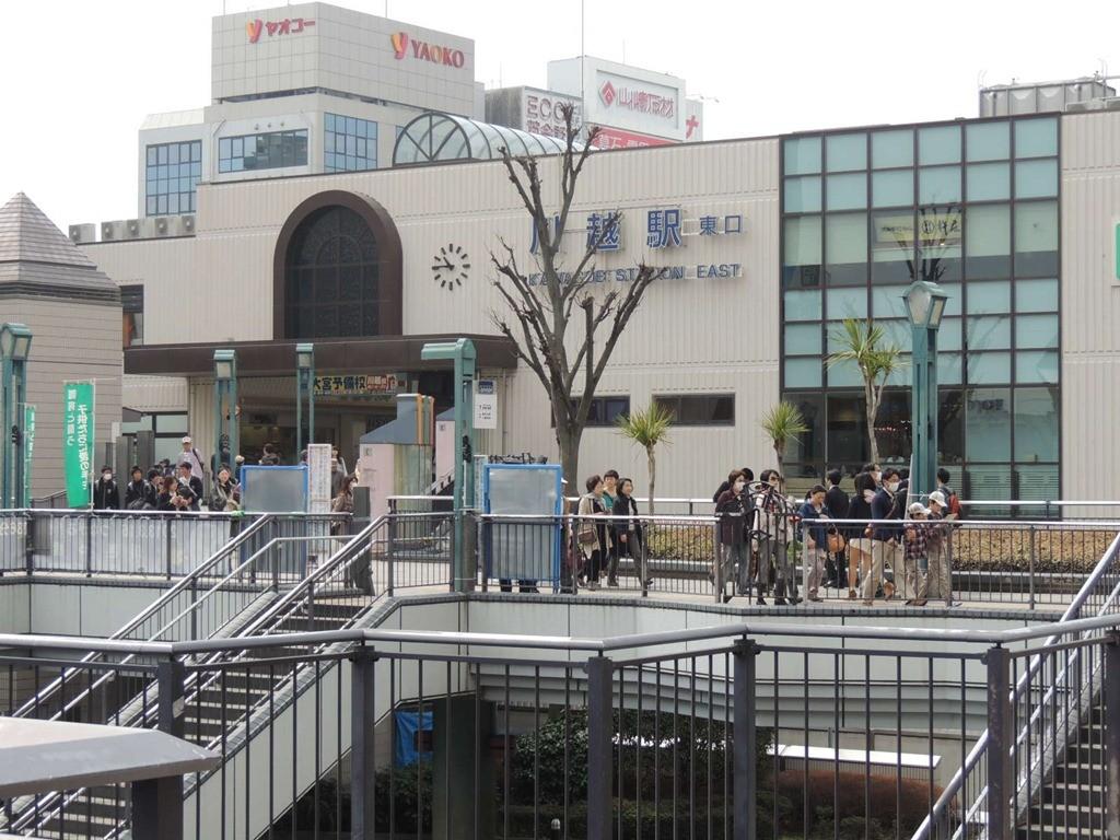 川越駅駐車場安い